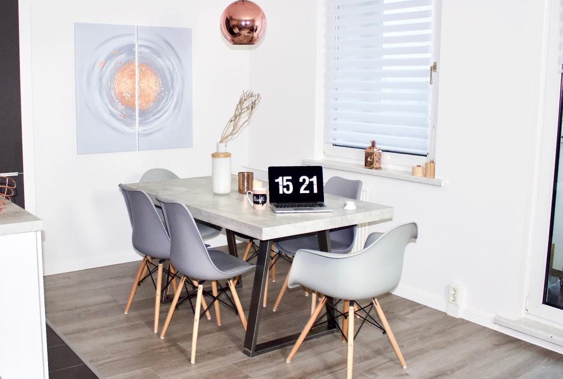 Diy Esstisch selfmade interior diy esstisch in betonoptik