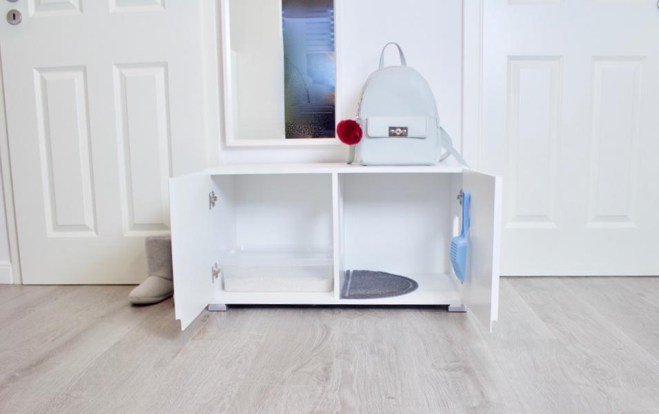 DIY Design Katzentoilette
