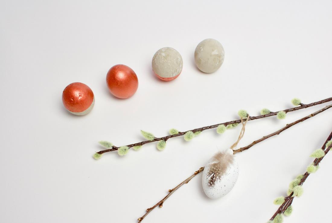 DIY Oster Deko Beton-Eier