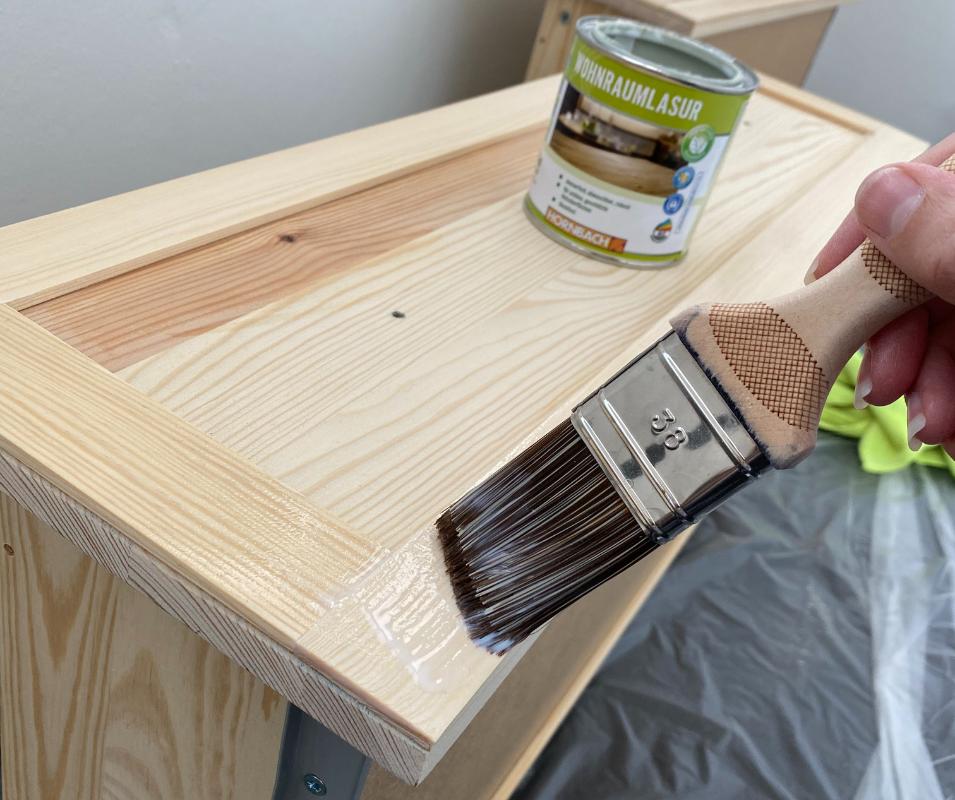 Ikea Tarva Hack - Kommode lasieren